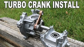 TURBO CRANK? Installed On 47cc 49cc Engine! Every Step Included
