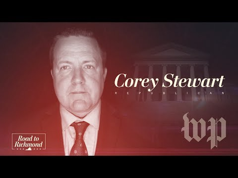 Republican candidate Corey Stewart wants your vote