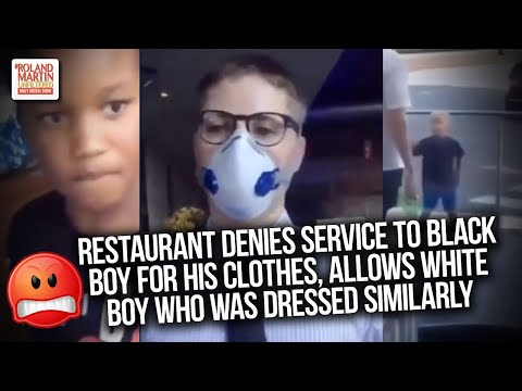 🤯 Restaurant Denies Service To Black Boy For His clothes, Allows White Boy Who Was Dressed Similarly