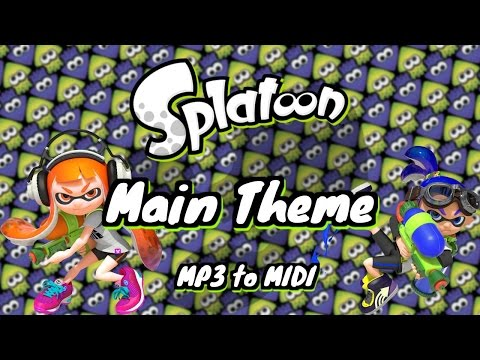 MP3 to MIDI | Main Theme (Splatoon)