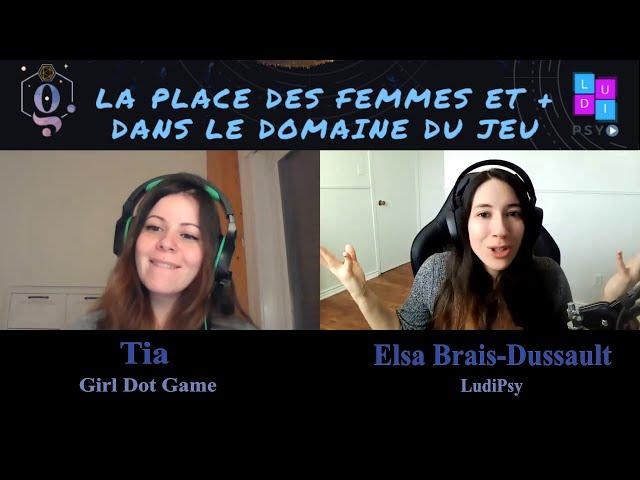 La Place des Femmes et + dans le Domaine du Jeu: Tia, Girl dot Game