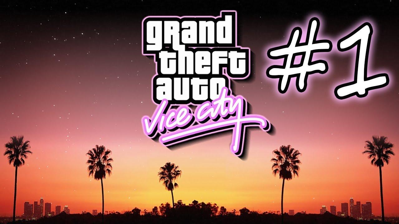 ЗАПИСЬ СТРИМА ► Grand Theft Auto: Vice City #1 #1