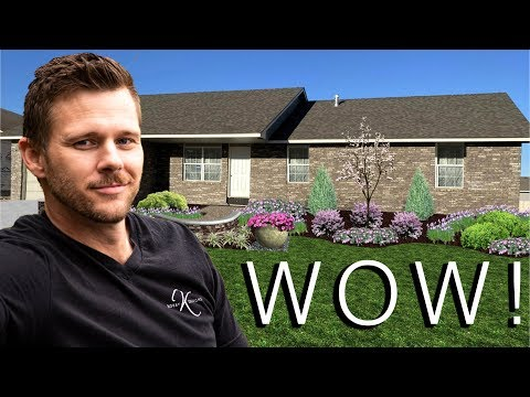 WOW! 3 Landscape Designs for BEAUTIFUL HOME 🏡// Bobby K Designs
