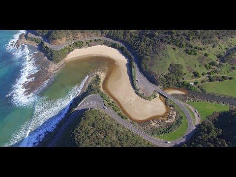 4K Aerials - The Great Ocean Road