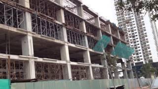 Tiến độ dự án Chung Cư Khu Ngoại Giao Đoàn Tòa N03 T5 Tháng 1/2016