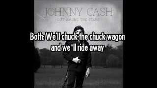 JOHNNY CASH - Baby Ride Easy (Lyric Video)