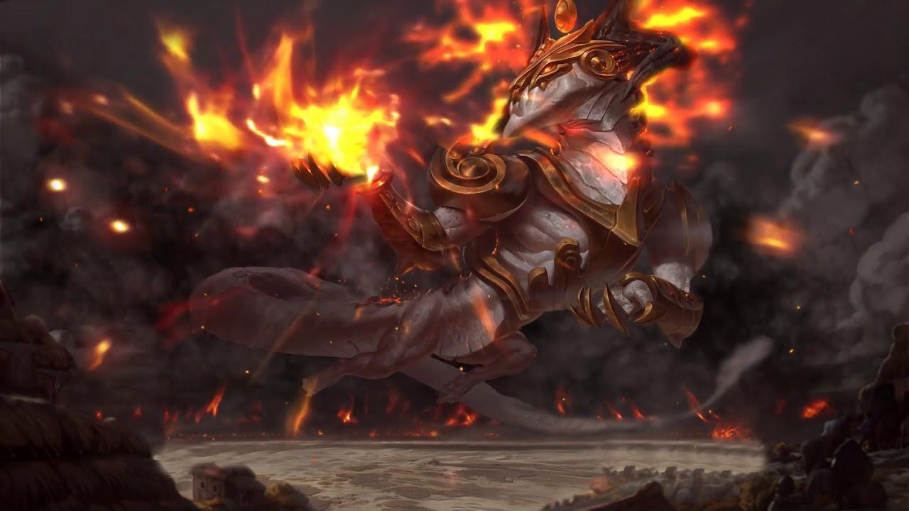 Animated Ashen Lord Aurelion Sol Splashart (fanmade)