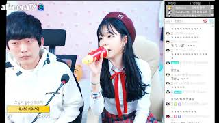 박민정♥ 입대를 앞둔 오빠에게 영상편지 보내기!! 인데 바로 옆에서ㅋㅋㅋㅋㅋㅋ 171110