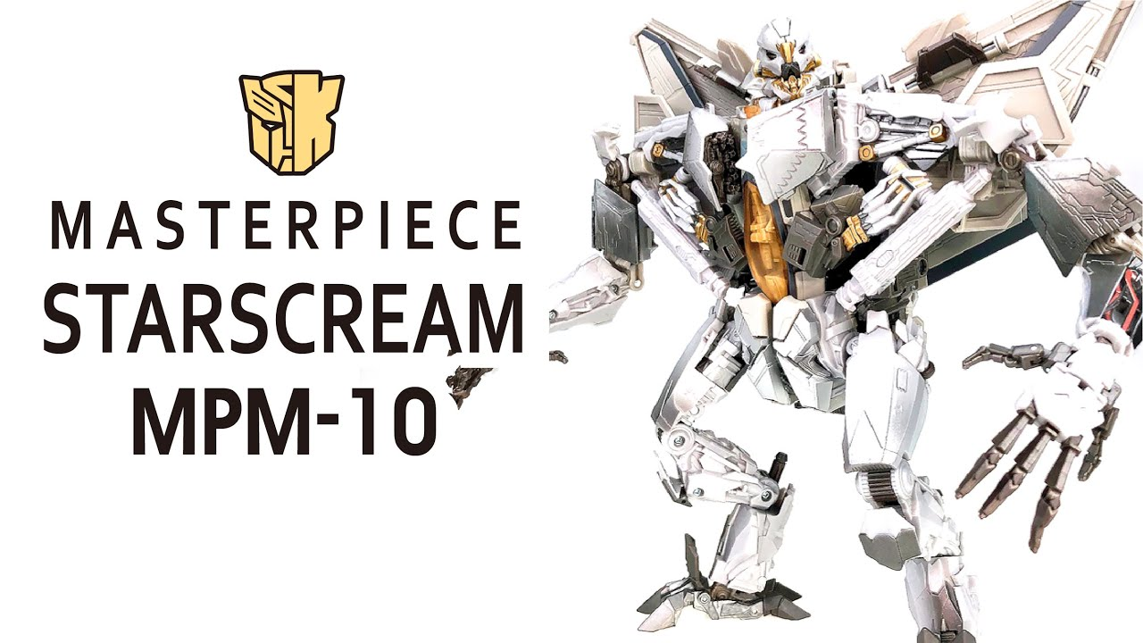 Transformers Movie Masterpiece MPM-10 Starscream In-hand Review