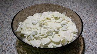 Салат с селедкой.Очень Простой и Вкусный Рецепт