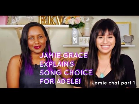 Jamie Grace on why she chose a non-Christian song for Adele