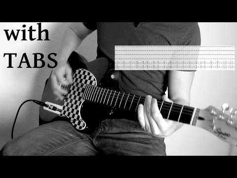 Three Days Grace - The Good Life Guitar Cover w/Tabs on screen