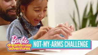 A Not-My-Arms Challenge Inspired by Barbie™ Dreamhouse Adventures | Barbie®