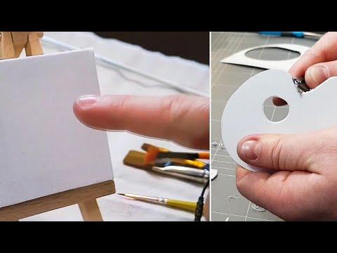 Preparing for Mini Oil Painting!