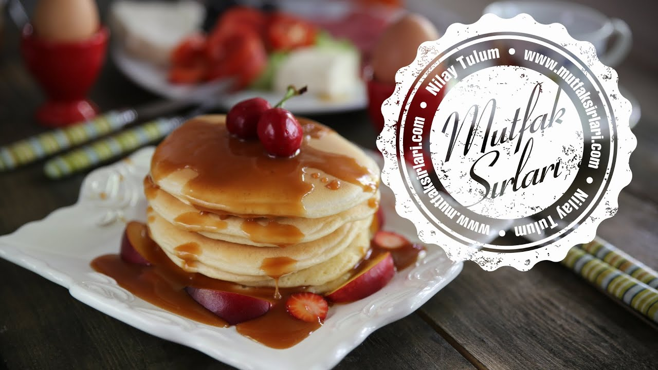 Pankek (Pancake) Tarifi - Mutfak Sırları - YouTube