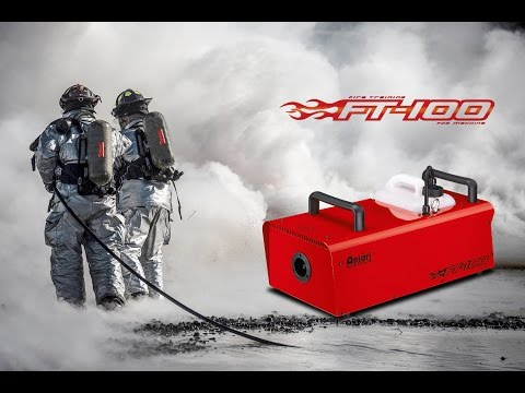 Machine à Brouillard FT100 DMX ANTARI vidéo