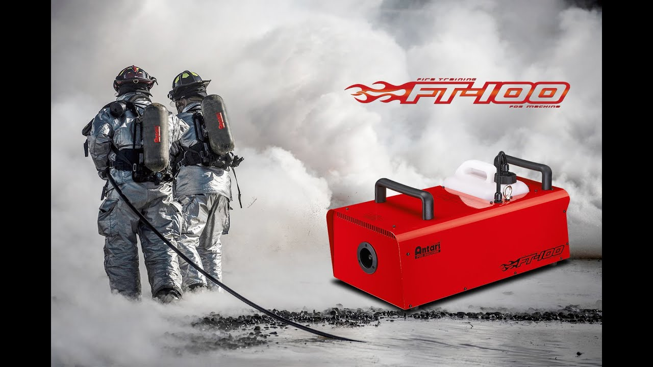 Antari Fog Machine Ft 100 Fire Training Youtube