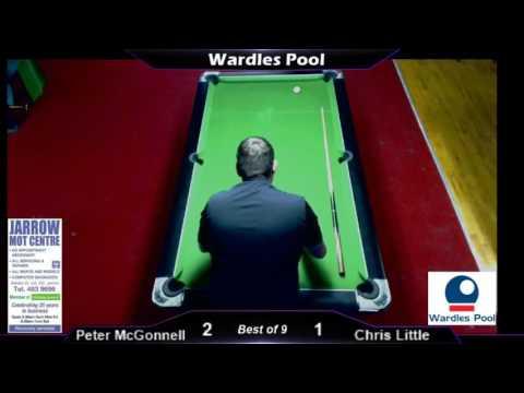 Wardles Pool; Peter v Chris