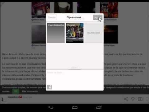 Crear revistas propias en Flipboard