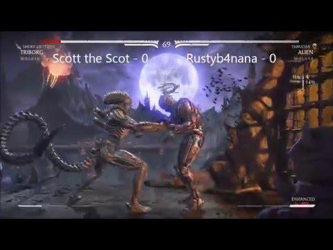Glasgow Kombat #17 - Scott the Scot (Triborg:Smoke/Outlaw Erron) vs Rustyb4nana (Tarkatan Alien)