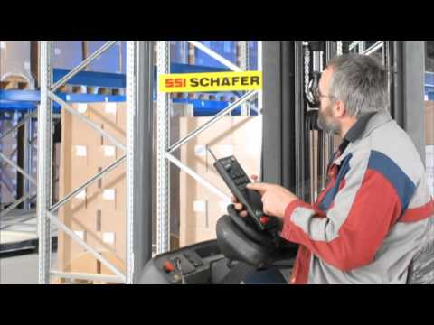 SSI Schaefer Mobile Racking System