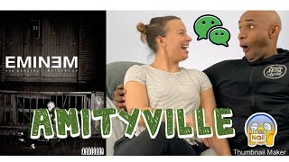 Eminem - Marshall Mathers Lp - Amityville (feat. Bizarre)(reaction)(Review)