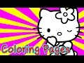 Hello Kitty Colouring Pages For Kids Coloring Games - Hello Kitty Coloring Book For Girls
