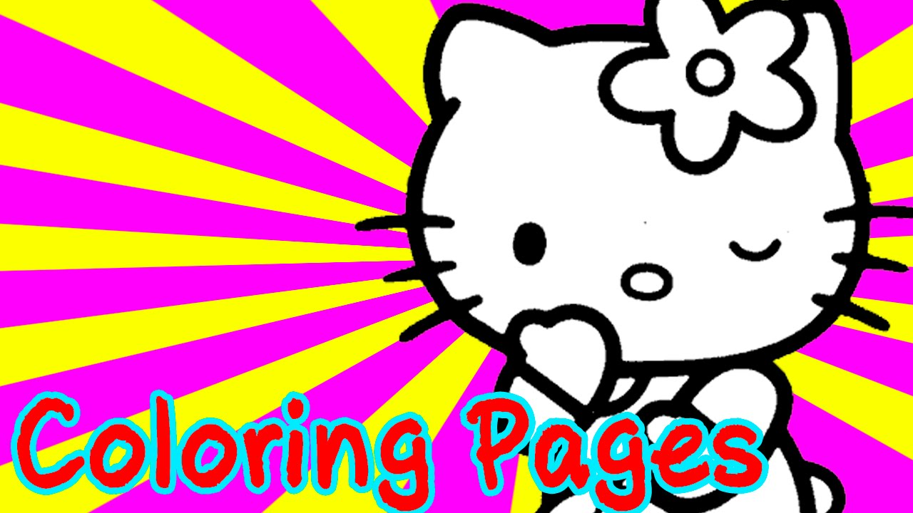 hello kitty colouring pages for kids coloring games hello kitty