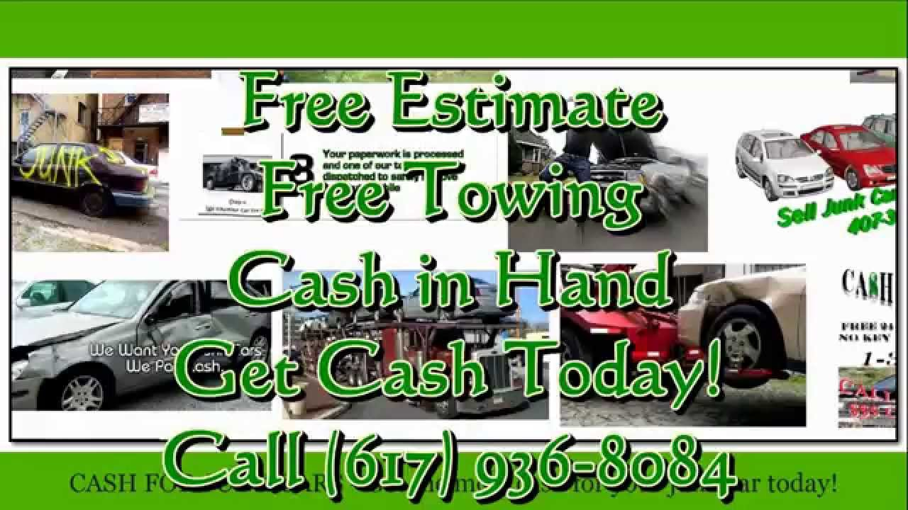 Where to sell junk cars | Boston, Ma (617) 936-8084 - YouTube