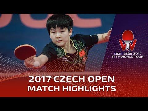 2017 Czech Open Highlights: Hina Hayata vs Yuan Yuan (R32)