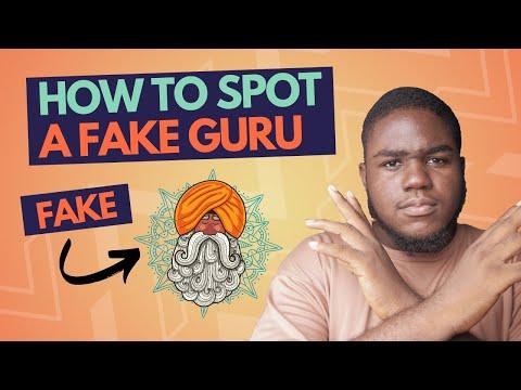 How To Spot A Fake Guru | The Fake GURU Formula Exposed