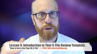 How to Get and Use your VA Claims File.