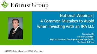 4 Common Mistakes to Avoid When Investing With an IRA LLC - Video Image