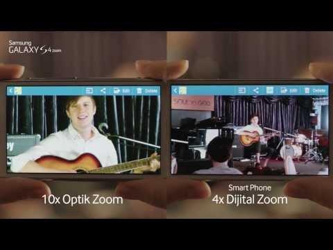 Galaxy S4 zoom Türkçe İnceleme Videosu