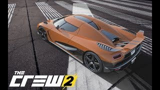 The Crew 2 - The Koenigsegg Agera R Customization Full HD 1080p Video !!!!