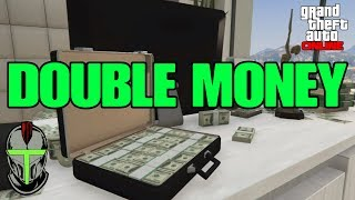 GTA Online DOUBLE MONEY!!!