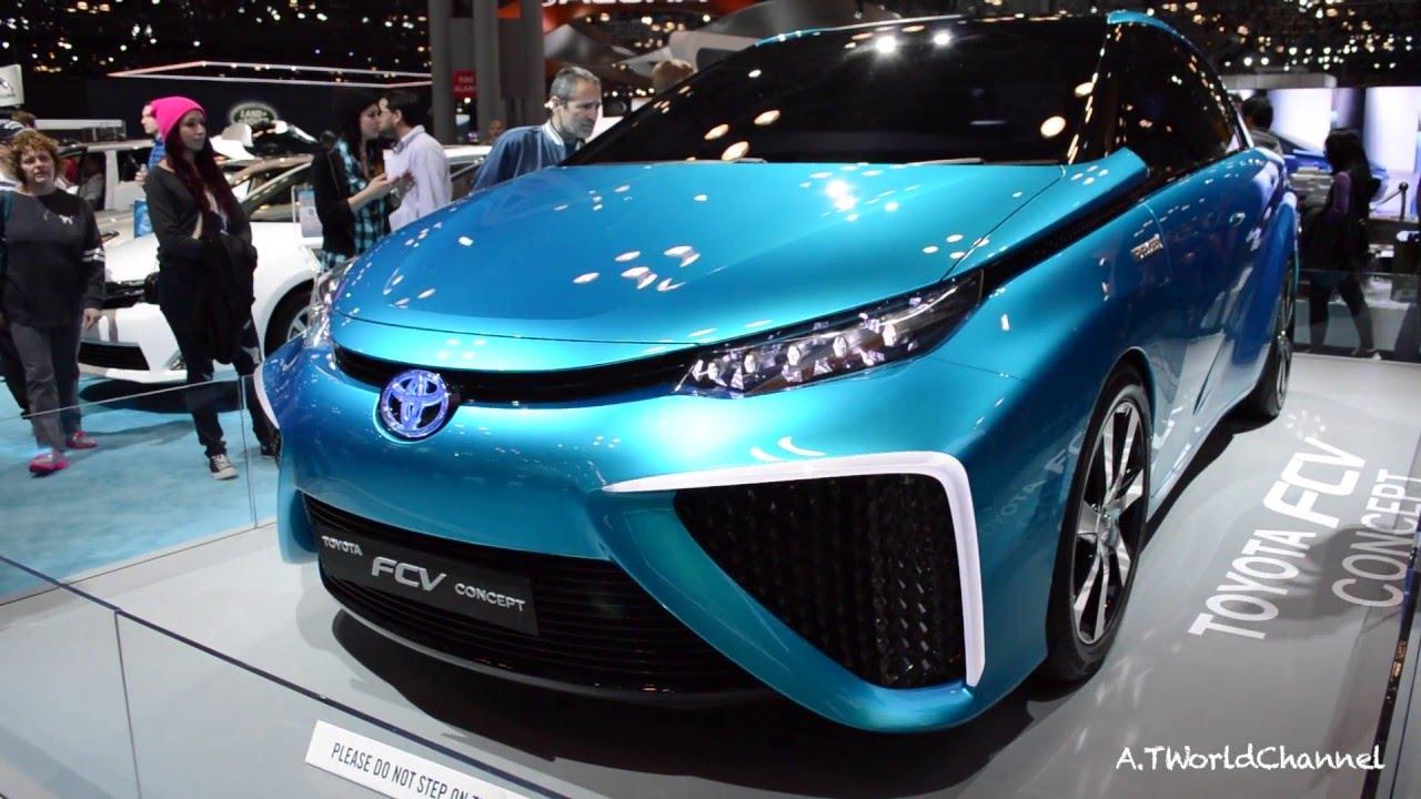 Toyota Fcv Prius Concept New York Auto Show