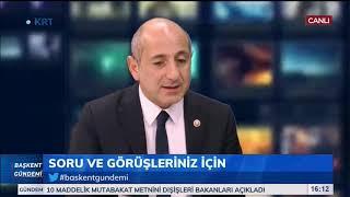 Başkent Gündemi Elif Doğan Şentürk Ali Öztunç 23 Ekim 2019