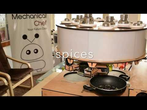 """Cooking Robot """"Mechanical Chef"""" Can Prepare Indian Foods Automatically In Homes"""