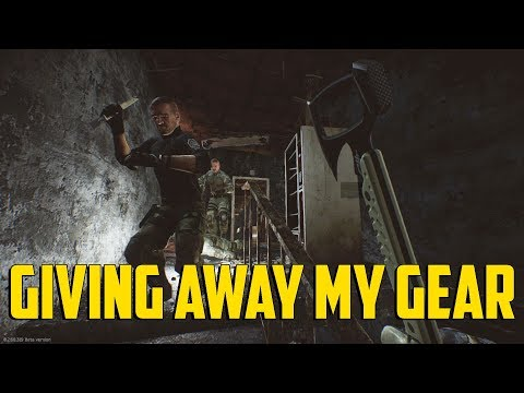 Escape From Tarkov - Giving Away My Gear