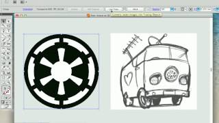 Converting JPEG/Raster to Vector with Illustrator Live Trace thumbnail