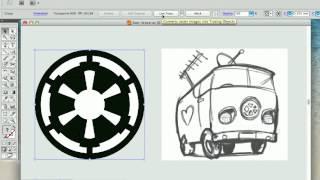 Konvertieren von JPEG - /Raster-zu-Vektor mit Illustrator