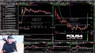 $1600 in 20 minutes ; Learn How To Day Trade with FOUS4