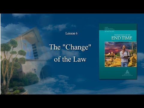 """The 'Change' In The Law"" (6 of 13) by Pastor Fred Dana"