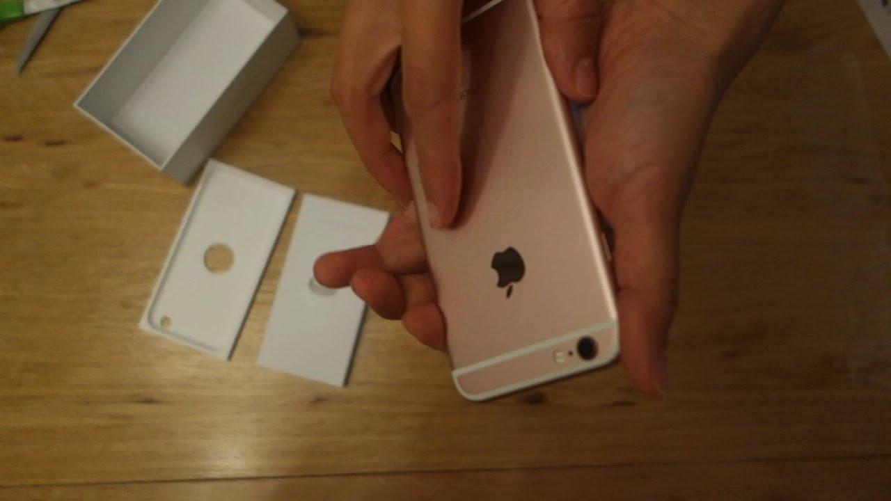 Обзор Iphone 6s (Pink gold-Розовое золото) - YouTube