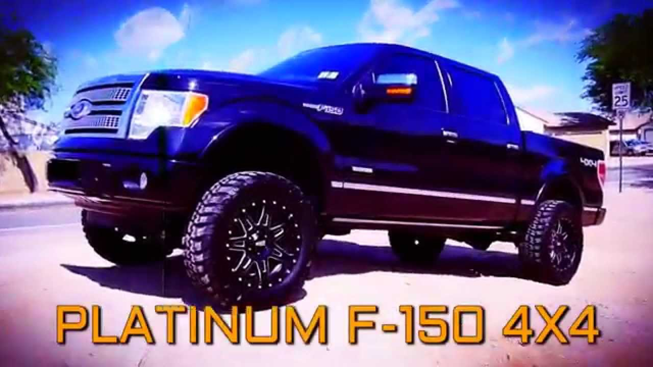 Ford F150 Platinum Lifted >> 11 Ford F 150 Platinum Super Crew 4x4 Lifted Truck For Sale Youtube