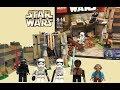 【LEGO STARWARS】スターウォーズ フォースの覚醒からの新商品、マッツ城の戦いをレ…