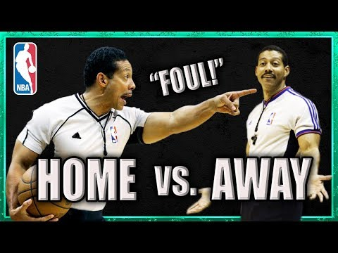 """Does """"Home Court Advantage"""" ACTUALLY Exist?  Are Refs BIASED Towards Home Teams?"""