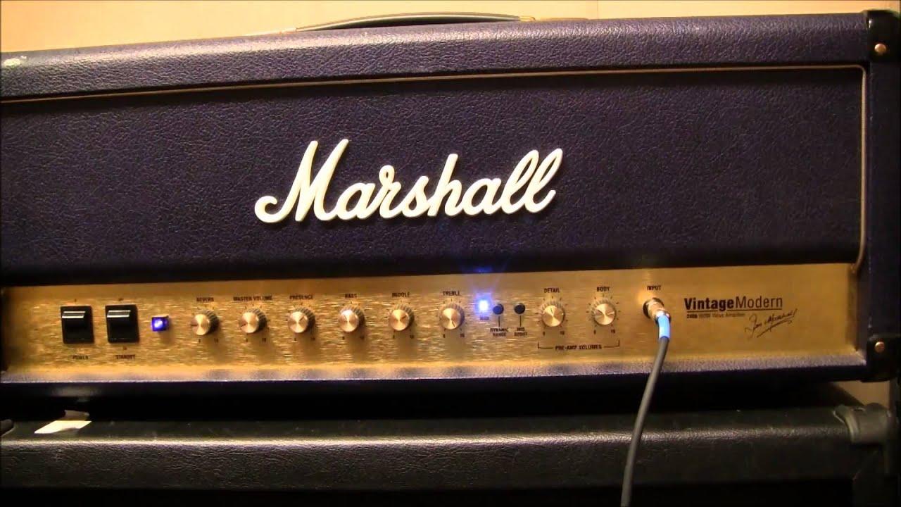 Marshall Vintage Modern 2466 : marshall vintage modern 2466 youtube ~ Russianpoet.info Haus und Dekorationen