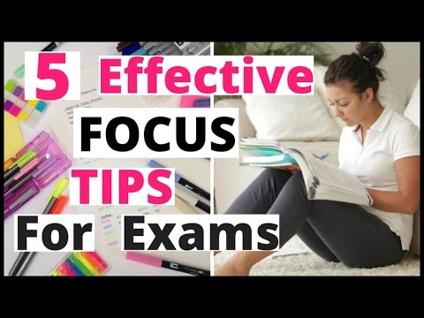 How To Concentrate On Studies For Exams   Best Ways To Focus On Studies In Hindi Study Smart